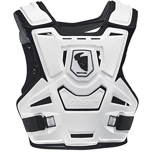 (Thor Youth Sentinel Protector Kids Chest Protection One Size White Black)