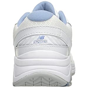 New Balance Women's Womens 928v3 Walking Shoe Walking Shoe, White/Blue, 8.5 D US