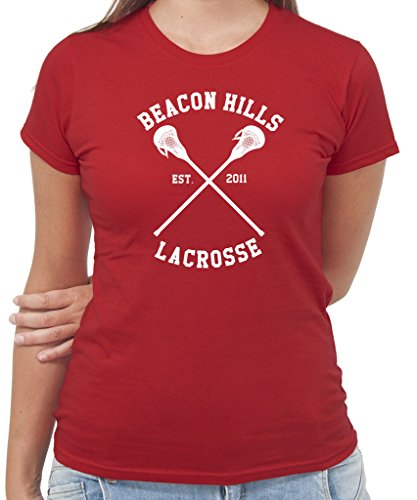 New Indastria T-Shirt Teen Wolf Lacrosse Beacon Hill - by Rossa