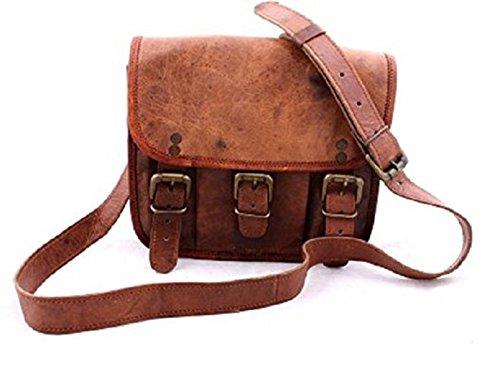 Pranjals House Brown Genuine Leather Sling Bag