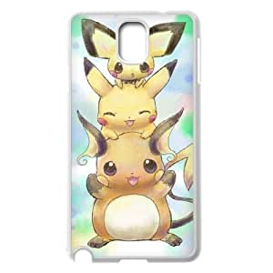 Samsung Galaxy Note 3 N9000 2D PersonPikachuzed Phone Back Case with Pikachu Image