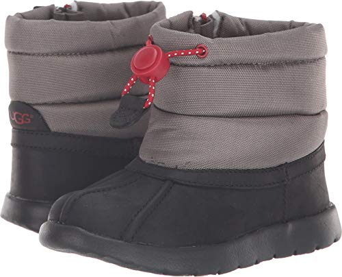 UGG Baby T Puffer Boot WP Snow, Black, 10 M US Toddler]()