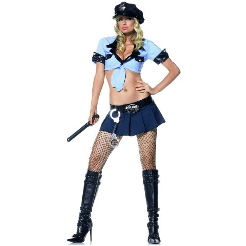 Offic (Sexy Officer Frisk Me Adult Womens Costumes)