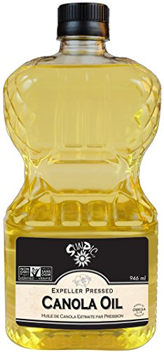 Sunpic Expeller Pressed Non-Gmo Canola Oil, 946Ml