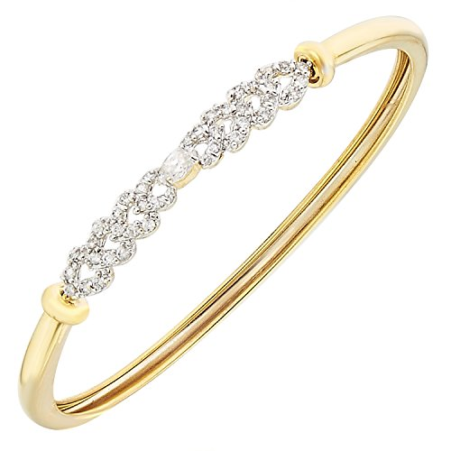 the-jewelbox-marquise-eternity-gold-plated-openable-free-size-kada-for-women