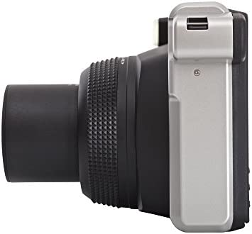 Fujifilm instax WIDE 300 - Cámara analógica instantánea, negro ...