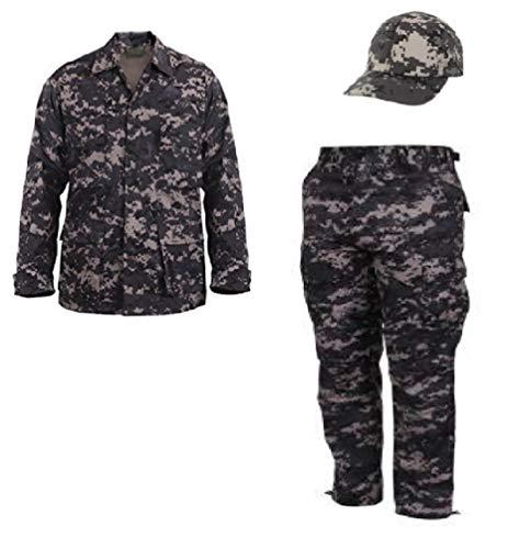 (Kids Subdued Urban Digital Camo Junior G.I. Uniform (XS) )