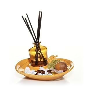 Yankee Candle Spiced Pumpkin Fragranced Reed Decor Set