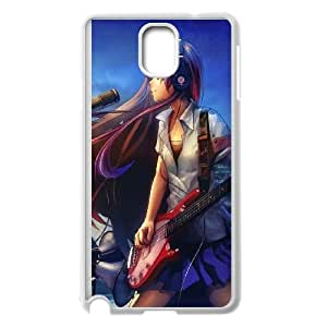 Samsung Galaxy Note 3 Cell Phone Case White Girl Guitar Music Lkhti