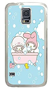 Samsung S5 case funny Cute Cartoon Best PC Transparent Custom Samsung Galaxy S5 Case Cover