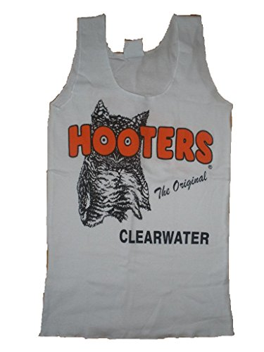 Hooters Clearwater White Tank -