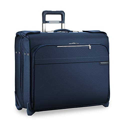 Briggs & Riley Baseline Deluxe Garment Bag, 2 Wheel, Navy Briggs Riley Garment Bags