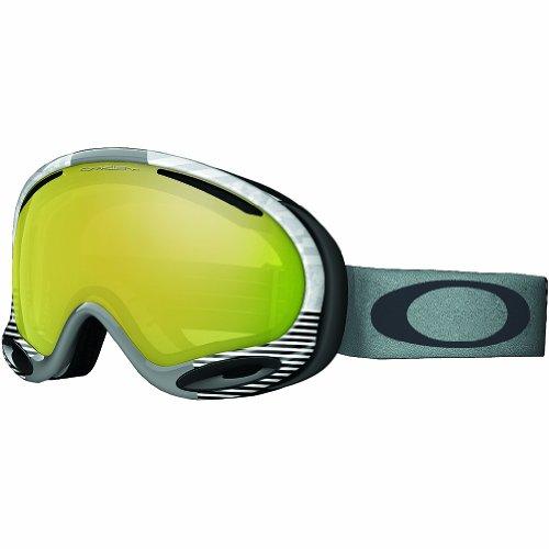 W Ski Goggles, Signature White/24k Irid (Shaun White Goggles)