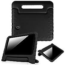 Fintie Samsung Galaxy Tab E 9.6 Kiddie Case - Light Weight Shock Proof Convertible Handle Stand Kids Friendly for Samsung Galaxy Tab E Wi-Fi / Tab E Nook / Tab E Verizon 9.6-Inch Tablet, Black