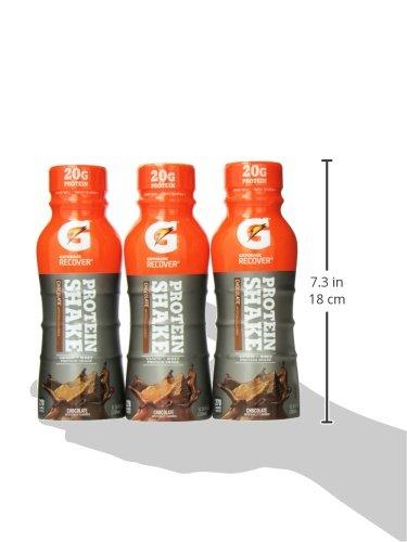 Gatorade Recover Protein Shake Chocolate 12 Count
