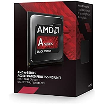AMD A8-7650K Black Edition A-Series APU with Radeon R7 Graphics AD765KXBJASBX