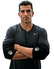 Bear KompleX Elleboogmouwen (1 paar) Directe ondersteuning en compressie, vermindert gewrichtspijn, stimuleert spierwarmte voor gewichtheffen, powerlifting, worstelen, sterkman, Bench Press & CrossFit-5mm dik