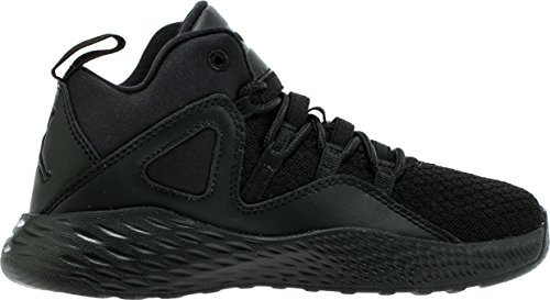 Jordan Kids Formula 23 BP Shoes Black Black White Size 2 by Jordan