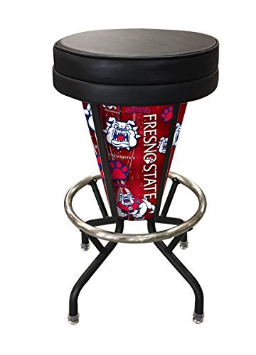 Holland Bar Stool Co. Indoor/Outdoor Lighted LED Edmonton Oilers Swivel bar Stool