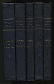 The Pentateuch and Rashi's Commentary,…