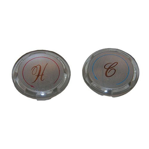 LASCO 0-6051 New Style Hot and Cold Buttons for Delta