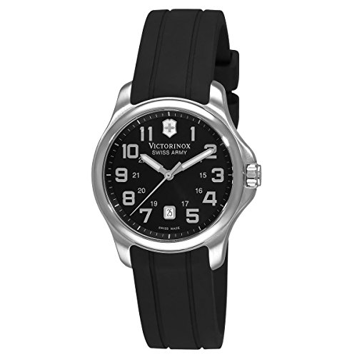 Victorinox Swiss Army Women's 241367 Officer's Black Dial Watch by Victorinox (Image #1)