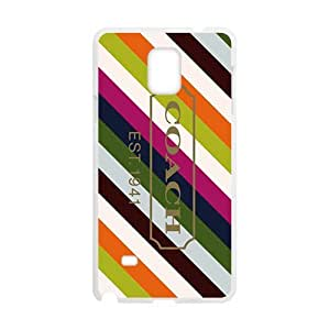 Happy Coach design fashion cell phone case for samsung galaxy note4