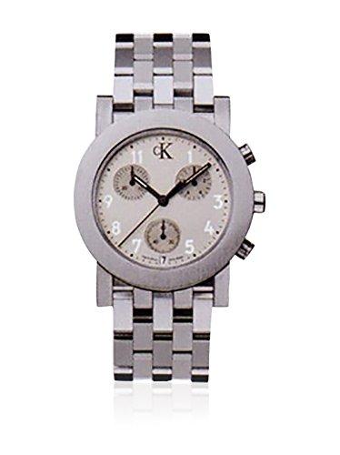 Calvin Klein Reloj analogico para Hombre de Cuarzo con Correa en Acero Inoxidable K8171.31: Amazon.es: Relojes