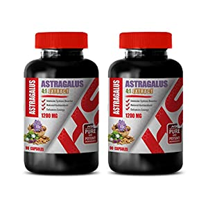 antioxidant Vitamins for Women – Astragalus 1200 MG Root 4:1 Extract – Astragalus Root…