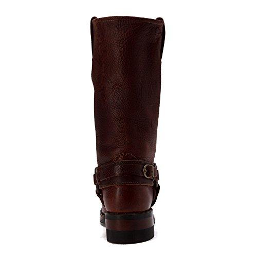 Frye Womens Belted Harness 12r Castnut Burattato Fg
