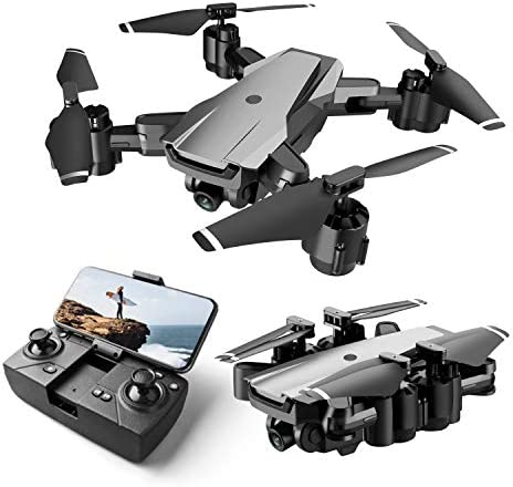 Drones With 4k Hd Camera,5g Wifi Fpv Real Time Transmission,Gesture Selfie,Altitude Hold,Foldable Quadcopte Drone For Adults Kids And Beginners