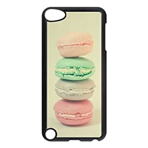 Fashion Protection Cute Macaron Cookie Design Hard Cover Case For iPod Touch 5th Generation