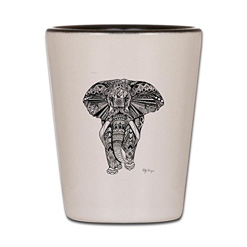 Elephant Shot Glass - CafePress - Elephant - Shot Glass, Unique and Funny Shot Glass