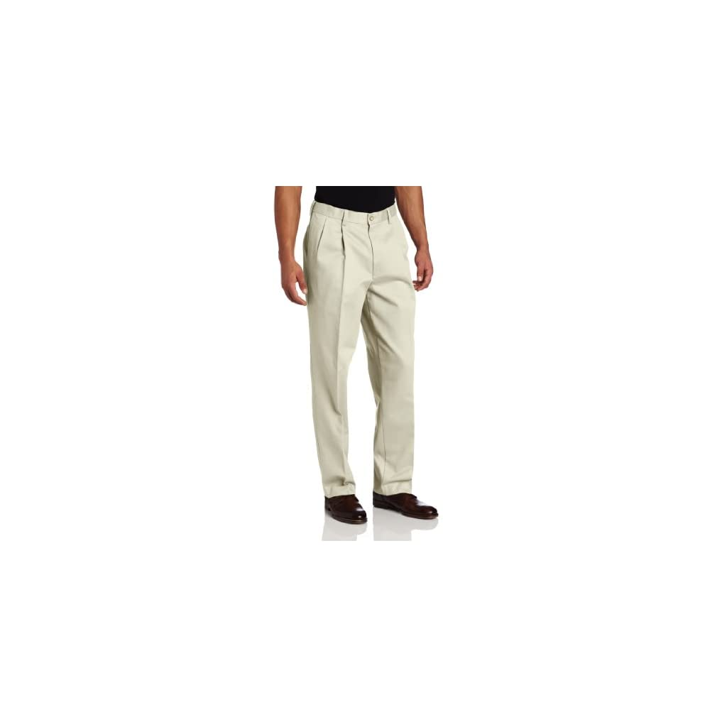 Savane Men's Pleated Performance Chino Pant