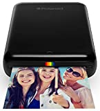 Polaroid Zip Wireless Mobile Photo Mini Printer (Black) Compatible w/iOS & Android, NFC & Bluetooth Devices