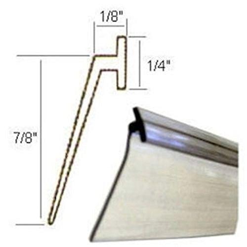 Original Great Quality Clear Vinyl Framed Shower Door Drip Sweep Seal Wipe 36