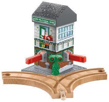 Fisher-Price Thomas the Train Wooden Railway Christmas Crossings