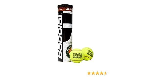 Babolat RG Fo X4 Pelota de Tenis, Unisex Adulto, Amarillo, Talla ...