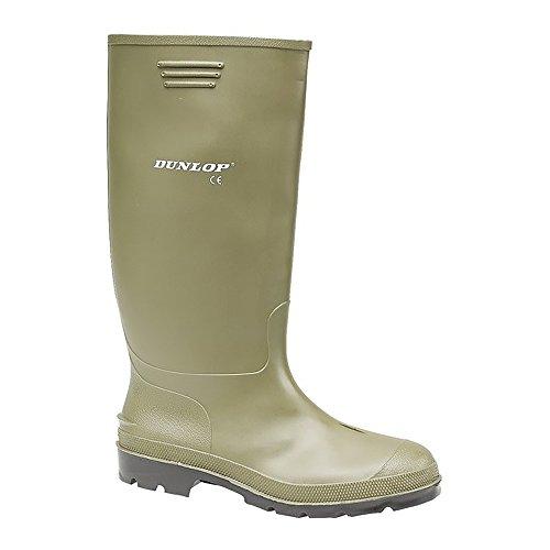 Dunlop Pricemaster - Botas de agua, color negro Verde - verde