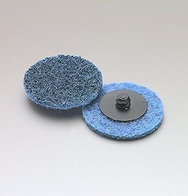 Medium surface blending 50mm Roloc type quick change discs for sanding and surface blending.