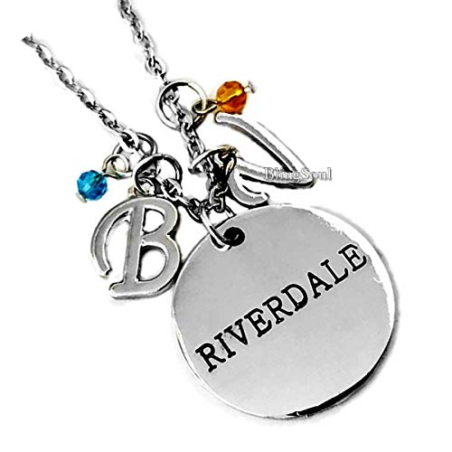 BlingSoul River Necklace Jughead Jewelry Gifts - River Jughead Merchandise for Women