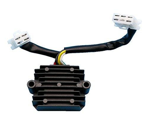 Tuzliufi Voltage Regulator Rectifier Replace Honda Motorcycles CB650 CB650C Custom CB650SC Nighthawk 627CC CBR1000F Hurricane 998CC CBX750 747CC 1979 1980 1981 1982 1984 1985 1986 1987 1988 New Z36