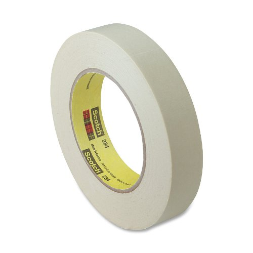 Scotch General Purpose Masking Tape, 1 Inch x 60 Yards, 3 inch Core, Natural (All Purpose Masking Tape)