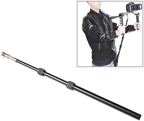 GzPuluz カメラサポート スタビライザー アクセサリー ビデオカメラビデオカメラ(UF-001)のためのベルトポケット付き