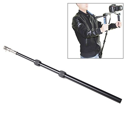 XIAOMIN Retractable Shoulder Mount DSLR Rig Support Rod with Belt Pocket for Video Camera Camcorder (UF-001) Premium Material by XIAOMIN