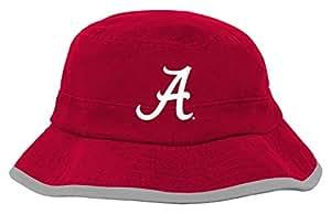 "NCAA Alabama Crimson Tide Toddler ""Team"" Bucket Hat, 1-Size, Victory Red"