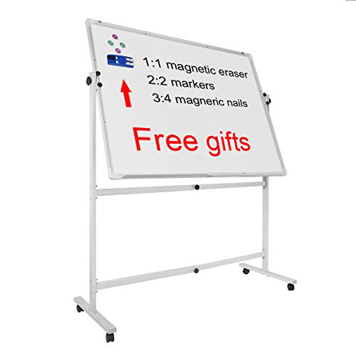 Rolling Whiteboard with Stand 36