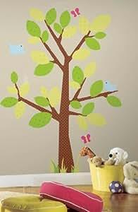 ROOMMATES RMK1554GM Kids Tree Peel u0026 Stick Giant Wall Decal & Amazon.com: ROOMMATES RMK1554GM Kids Tree Peel u0026 Stick Giant Wall ...