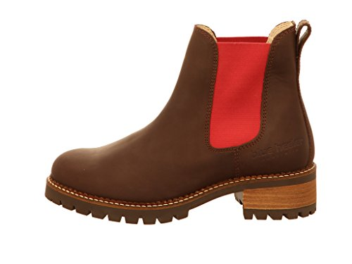 Women's Chelsea Brown heeler Boots Cherry Heeler Boots blue Blue Pash axHqw5Owf
