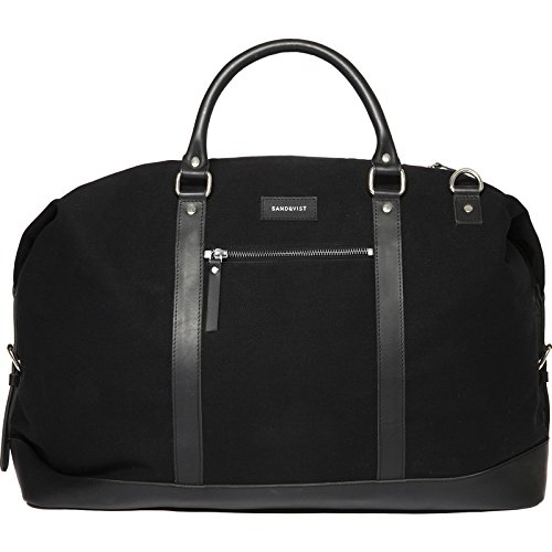 Sandqvist Jordan Weekend Bag - Black by Sandqvist